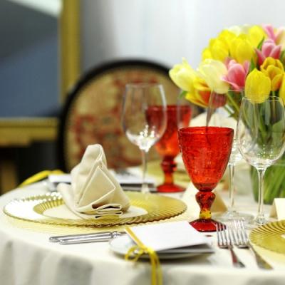 Сервировка и декор стола