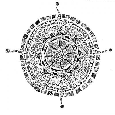 Zentangle - мастер-класс по рисованию в технике Зентангл