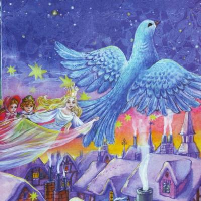 Новогодняя ЁЛКА «Сказочное путешествие за синей птицей»