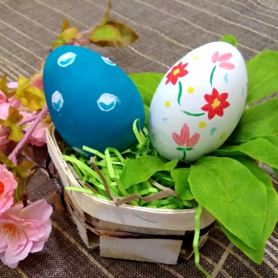 Пасхальные мотивы. Роспись деревянных яиц