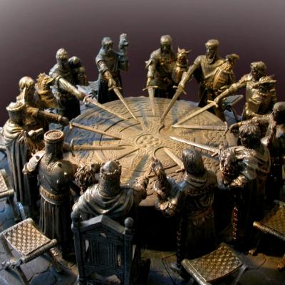 Лекция «Король Артур и рыцари круглого стола. Можем ли мы оживить легенду?»