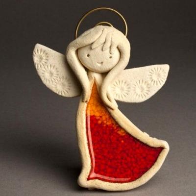 Занятие для детей «Мой ангел». Фигурка из теста своими руками