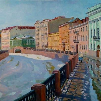 Весеннее свидание с Петербургом