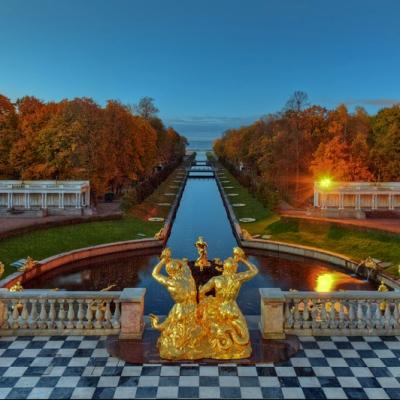 Золотая осень в императорских парках