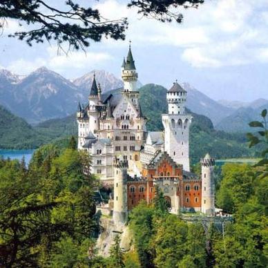 Бавария. В пространстве замков Короля Людвига II