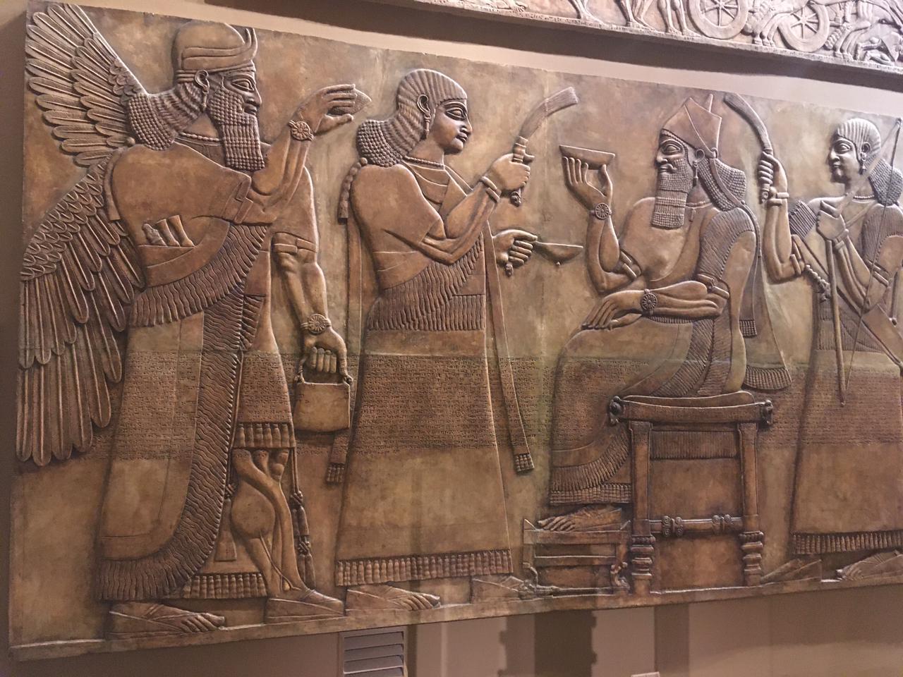 Символизм Древней Месопотамии в ГМИИ им. А. С. Пушкина