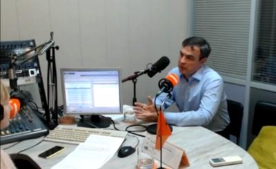 Интервью Вадима Карелина радиостанции «Комсомольская Правда»