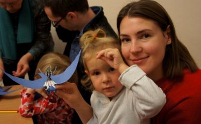 Интерактивный теневой спектакль «Дюймовочка» для детей